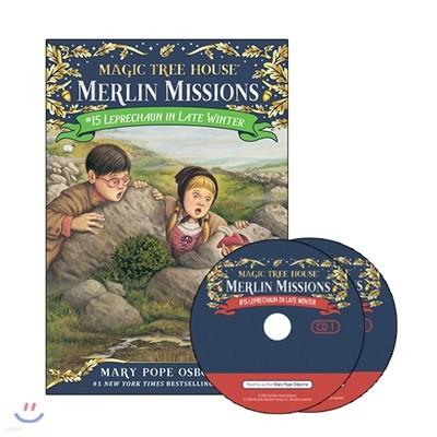 Merlin Mission #15 : Leprechaun in Late Winter (Book & CD)