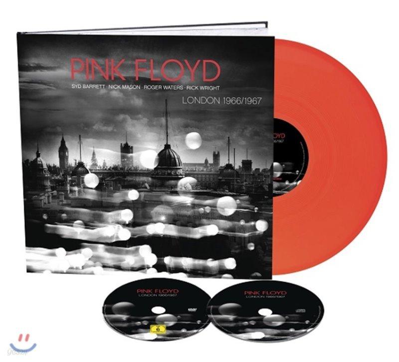 Pink Floyd (핑크 플로이드) - London 1966 / 1967 [CD+DVD+10인치 네온 오렌지 컬러 LP]
