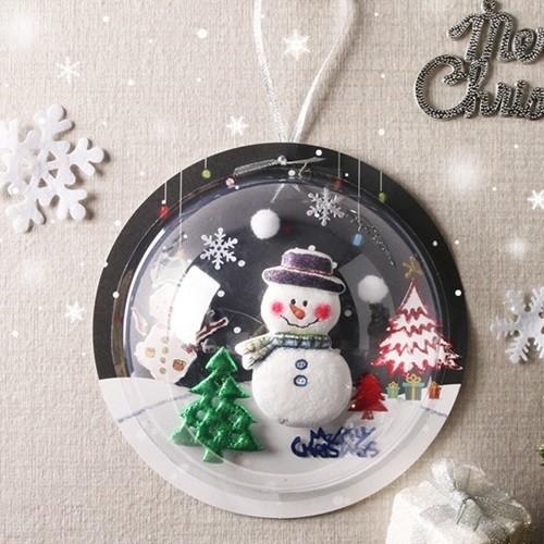 [아트랄라] 눈사람투명반구만들기(4인)/크리스마...