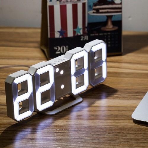 에버클락 3D LED벽시계/인테리어시계/탁상시계/무소음/가성비굿