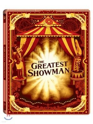 위대한 쇼맨 (2Disc 스틸북 한정판) : 블루레이