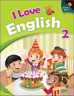 I Love English 2 Student Book