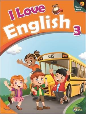 I Love English 3 Student Book