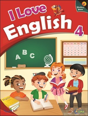 I Love English 4 Student Book