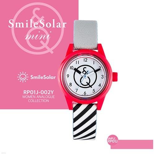 QQ시계 본사정품 SMILE QQ RP01J-002Y 남녀공용 태양전지 아날로그 시계