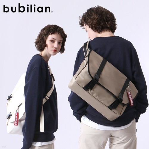 [BUBILIAN] 버빌리안 심플 메신저백 9 COLOR