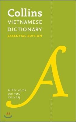 Collins Vietnamese Essential Dictionary