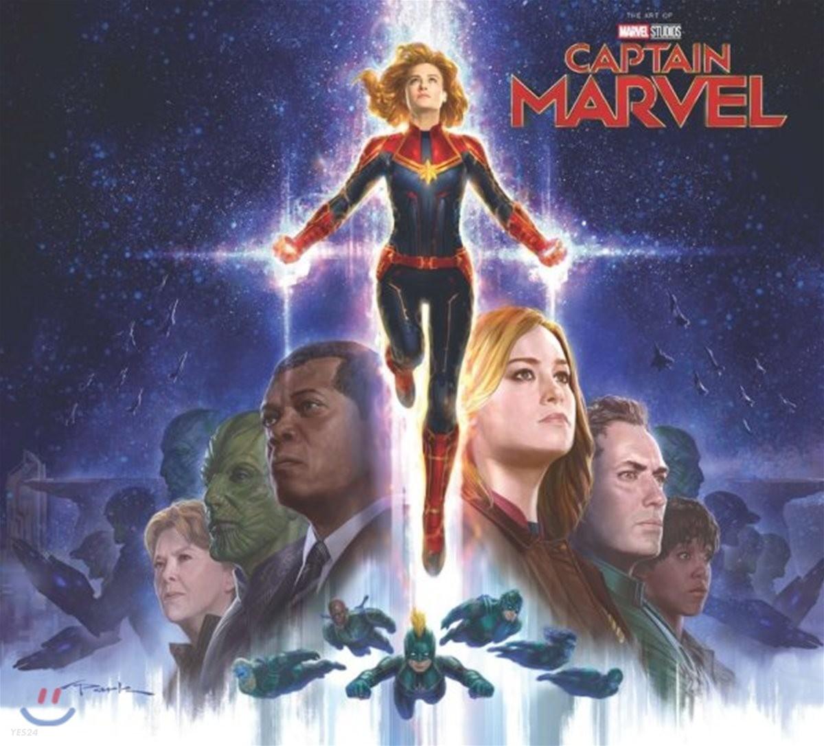 Marvel`s Captain Marvel : The Art Of The Movie : 영화 캡틴 마블 공식 컨셉 아트북