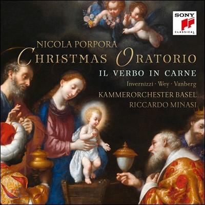 Riccardo Minasi 포르포라: 크리스마스 오라토리오 (Porpora: Il verbo in carne)