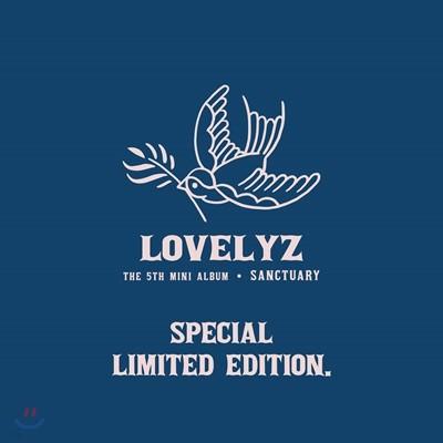 러블리즈 (Lovelyz) - 미니앨범 5집 : Sanctuary [한정판]