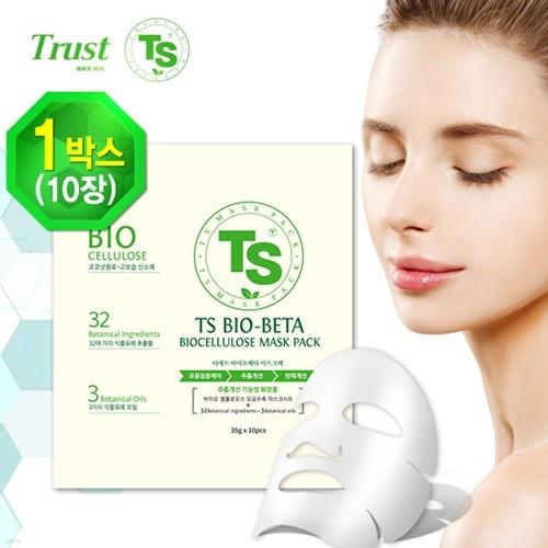 TS 바이오 베타 마스크팩 35gx 10장/1세트(10장)