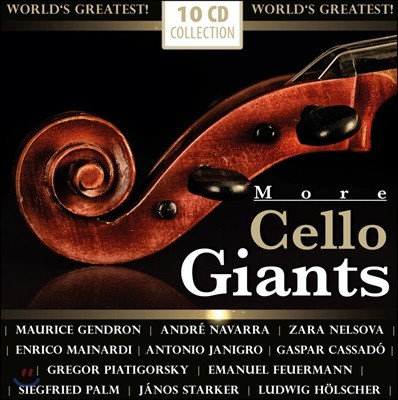 첼로의 거장 2집 (More Cello Giants) [10CD]