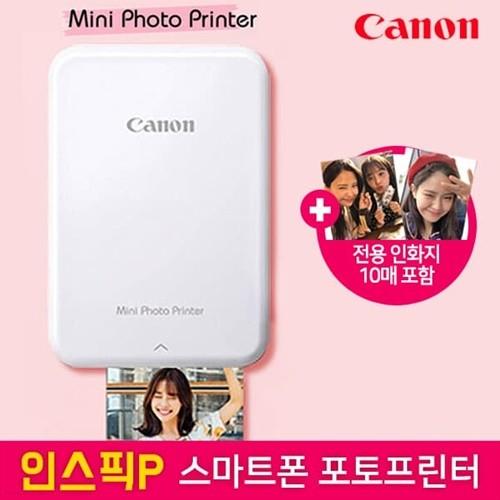 캐논 신제품 미니 포토프린터 iNSPiC 인스픽 PV123 (용지 10매 포함)