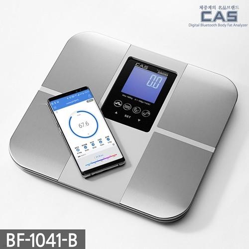 카스(CAS) 스마트 체지방 체중계 BF-1041-B (스마트폰연동)