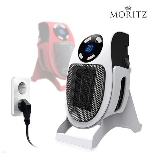 모리츠 플러그인 히터 초절전 490W 이동식 초소형 열풍히터 MO-RPH100/