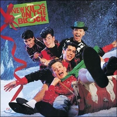New Kids on the Block (뉴키즈 온 더 블록) - Merry, Merry Christmas [그린 컬러 LP]