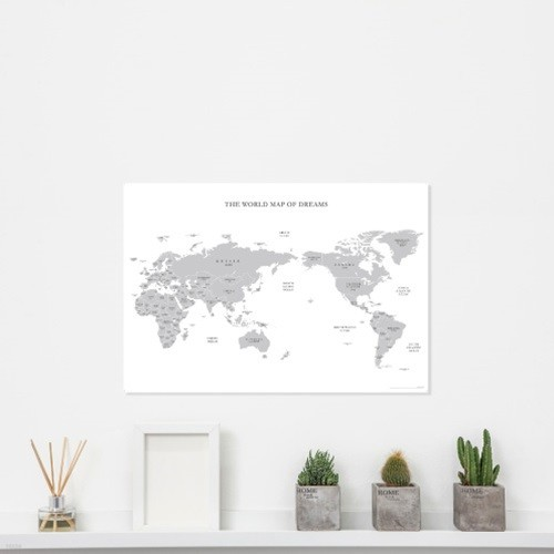 [기성]세계지도A3 심플