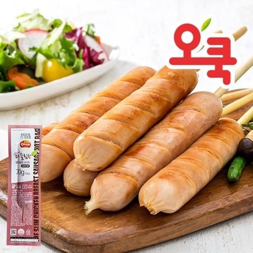 [오쿡]오리지날 닭가슴살 핫바 10팩