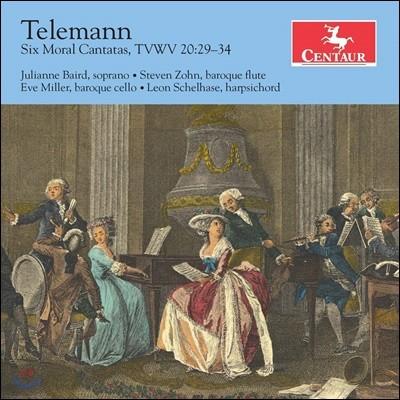 Julianne Baird 텔레만: 6개의 칸타타 (Telemann: 6 Moral Cantatas TWV 20:29-34)