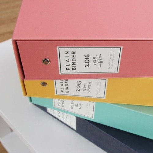 [앨범샵]플레인바인더앨범 포토앨범 접착식 포켓식