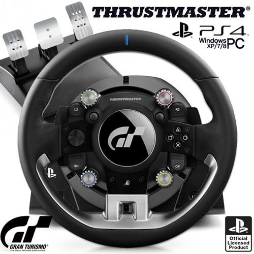 트러스트마스터 T-GT 레이싱휠 3패달포함.(PS4/PC용)
