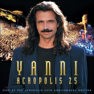 Yanni (야니) - Live At The Acropolis [발매 25주년 기념 / CD+DVD+블루레이]