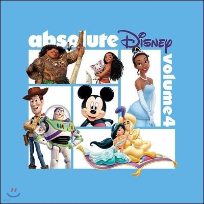 디즈니 애니메이션 베스트 주제곡 모음집 (Absolute Disney: Volume 4)
