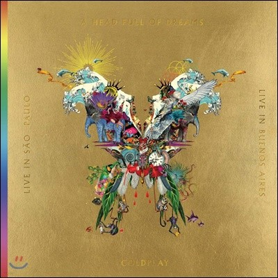 Coldplay - Live In Buenos Aires 콜드플레이 버터플라이 패키지 [2CD+2DVD]