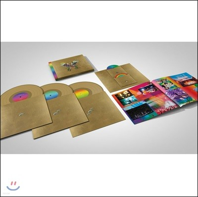 Coldplay - Live In Buenos Aires 콜드플레이 버터플라이 패키지 [골드 컬러 3LP+2DVD]
