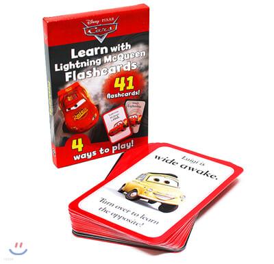 Disney Flashcards : Cars 디즈니 영단어 플래시 카드