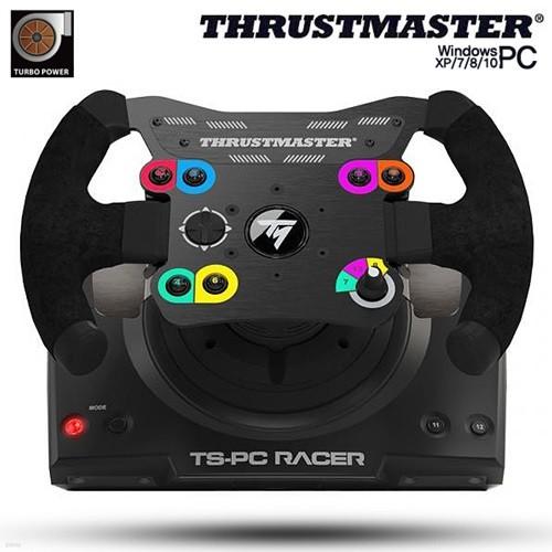 트러스트 마스터 TS-PC Ferrari488 레이싱휠, 2패달 포함(PC용)