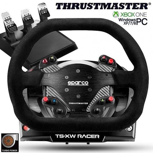 트러스트 마스터 TS-XW 레이싱휠 3패달포함.(XBOX ONE/PC용)