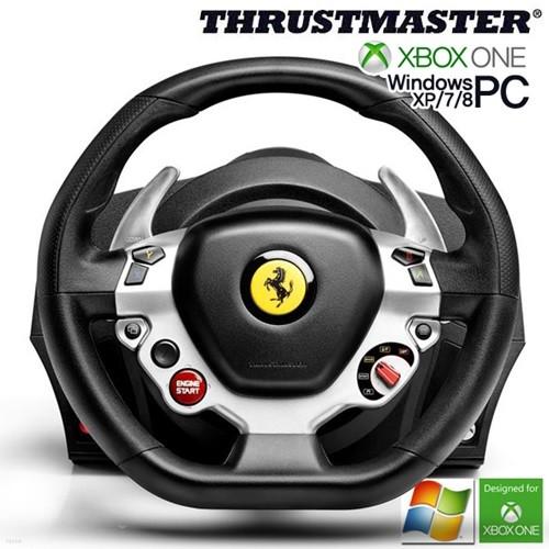 트러스트 마스터 TX 페라리458이탈리안 에디션 레이싱휠(XBOX ONE, PC용)