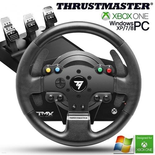 트러스트 마스터 TMX PRO 포스피드백 레이싱휠 3패달 포함(XBOX ONE,PC용)