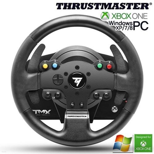 트러스트 마스터 TMX 포스피드백 레이싱휠(XBOX ONE,PC용)