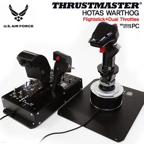 트러스트마스터 HOTAS WARTHOG Flightstick, Dual Throttles 비행 풀세트(PC용)