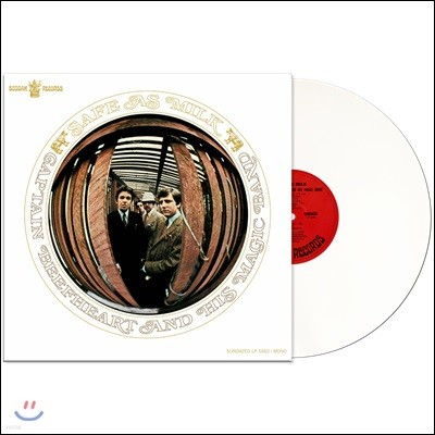Captain Beefheart & His Magic Band (캡틴 비프하트 앤드 더 매직 밴드)- Safe As Milk [화이트 컬러 LP]