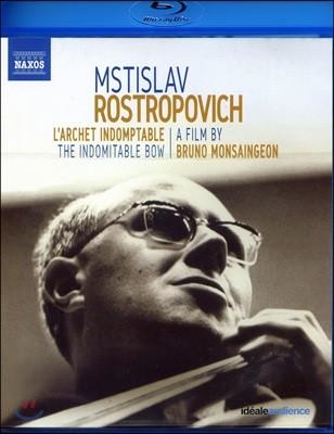브루노 몽생종의 로스트로포비치 다큐멘터리 '불굴의 활' (Mstislav Rostropovich - The Indomitable Bow)