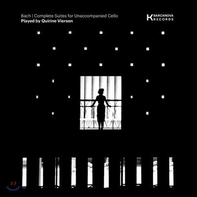 Quirine Viersen 바흐: 무반주 첼로 모음곡 전곡 (Bach: Cello Suites) [3LP]