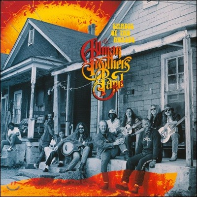 The Allman Brothers Band (올맨 브라더스 밴드) - Shades Of Two Worlds [LP]