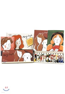 Merry People 메리 피플 스페셜 아크릴물감 세트