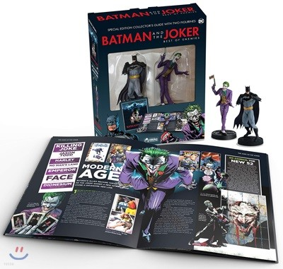 Batman and The Joker : Best of Enemies Plus Collectibles :  배트맨 조커 피규어 스페셜 에디션