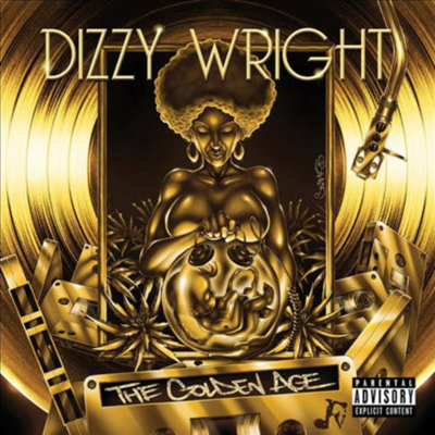 Dizzy Wright - The Golden Age (Gold LP)