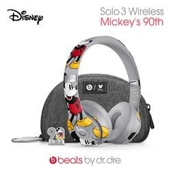 Beats Solo3 WL 미키마우스 90th Anniversary Edition 비츠바이닥터드레 솔로3 미키마우스 90주년 에디션