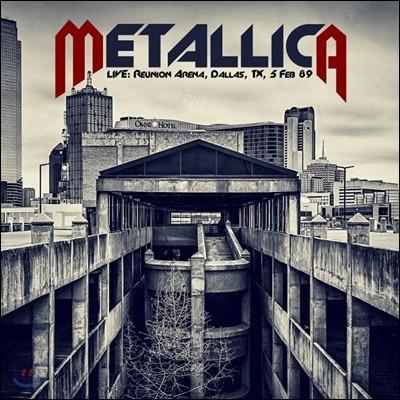 Metallica (메탈리카) - Live: Reunion Arena Dallas, TX 1989 [2LP]