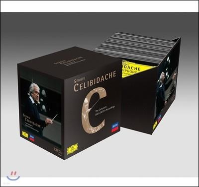 세르주 첼리비다케 DG, 데카 녹음 전곡집 (Sergiu Celibidache - The Complete DG & DECCA Recordings)