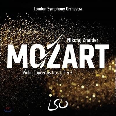 Nikolaj Znaider 모차르트: 바이올린 협주곡 1. 2. 3번 - 니콜라이 즈나이더