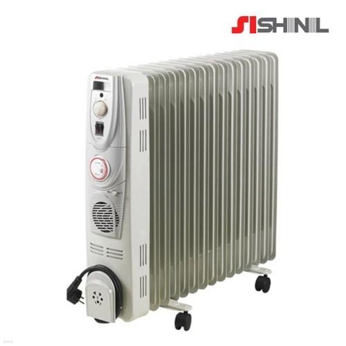 신일 전기 라디에이터 15핀 온풍팬 타이머기능 SER-SJ30CFT