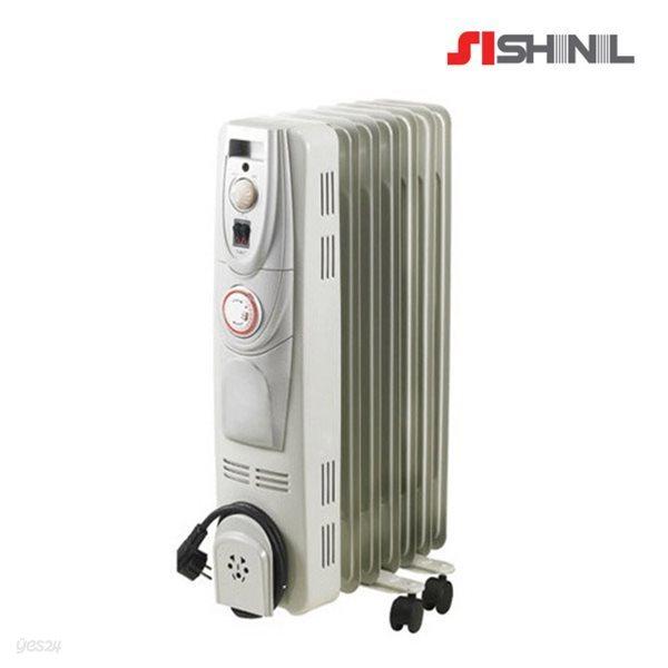 신일 전기 라디에이터 7핀 청정난방 타이머장착 SER-SJ15CT