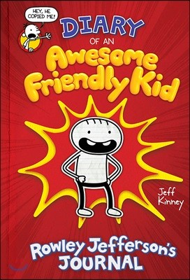 Diary of an Awesome Friendly Kid (미국판) : Rowley Jefferson's Journal